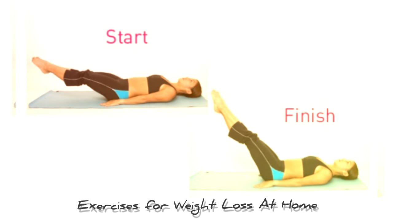Exercises for Weight Loss At Home